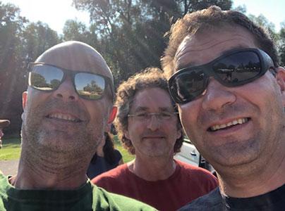 Peter, Achim und Jörg